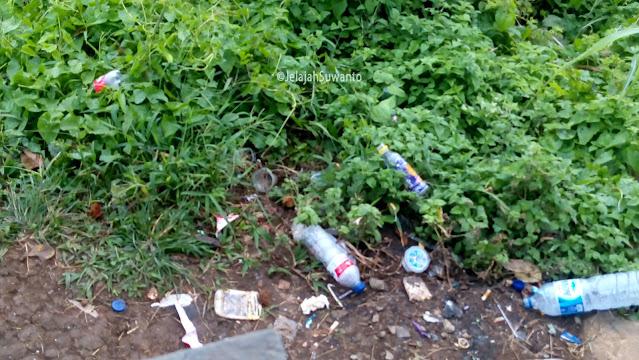Jangan cemari tahura Gunung Tumpa H.V Worang dengan sampahmu ©JelajahSuwanto