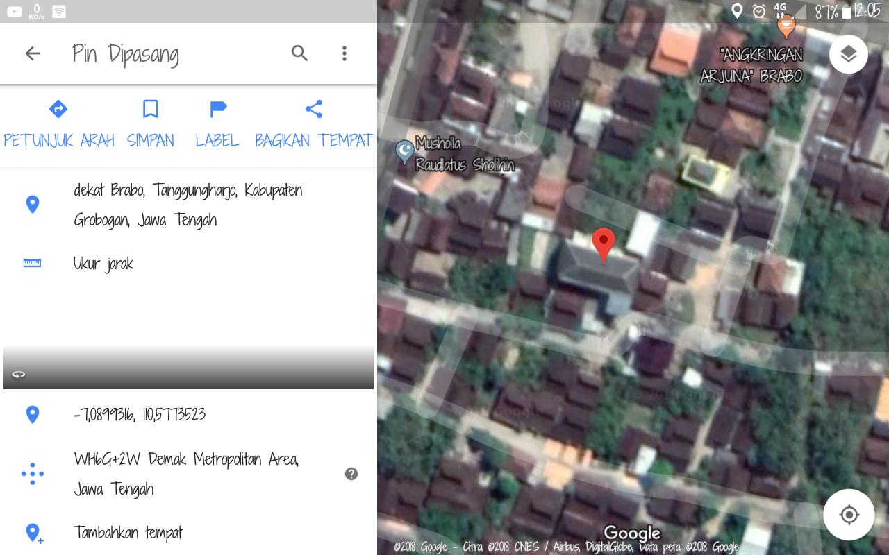 cara menambahkan lokasi di google map terbaru menggunakan android
