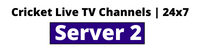 Cricket Live TV Channels