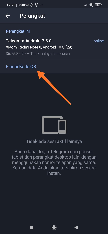 Cara Login Telegram Web 3