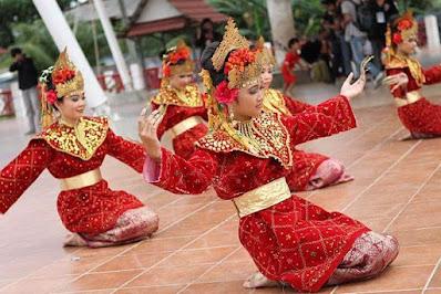 Tari Tradisional Sumatera Selatan