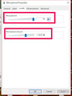 .. التخطي إلى المحتوى الرئيسيمساعدة بشأن إمكانية الوصول تعليقات إمكانية الوصول Google كيفية تشغيل المايك على اللاب توب ويندوز 10  الكلفيديوصورالأخبارخرائط Googleالمزيد الإعدادات الأدوات حوالى 116,000 نتيجة (0.51 ثانية)  كيفية إعداد الميكروفونات في Windows 10 واختبارها تأكد من اتصال هاتفك بشبكة بجهاز الكمبيوتر الخاص بك. حدد البدء > الإعدادات > النظام > الصوت. في إعدادات الصوت، انتقل إلى إدخال > اختر جهاز الإدخال، ثم حدد الميكروفون أو جهاز التسجيل الذي تريد استخدامه.  كيفية إعداد الميكروفونات في Windows 10 واختبارهاhttps://support.microsoft.com › ar-sa › كيفية-إعداد-الميك... لمحة عن المقتطفات المميَّزة • ملاحظات الفيديوهات نتيجة الفيديو لطلب البحث كيفية تشغيل المايك على اللاب توب ويندوز 102:10 مشكلة عدم تشغيل الميكروفون في ويندوز 10 YouTube · الماس ويب Mohamed Reyad 07/01/2018 نتيجة الفيديو لطلب البحث كيفية تشغيل المايك على اللاب توب ويندوز 10 معاينة 3:40 حل مشكلة الميكروفون في ويندوز 10 YouTube · البكلي 24/05/2020 نتيجة الفيديو لطلب البحث كيفية تشغيل المايك على اللاب توب ويندوز 102:30 حل مشكلة الميكروفون لا يعمل في ويندوز 10؟؟ YouTube · JuBa Sellam 03/07/2018 نتيجة الفيديو لطلب البحث كيفية تشغيل المايك على اللاب توب ويندوز 10 معاينة 4:14 حل مشكلة الميكروفون لا يعمل في ويندوز 7, 8.1 أو ويندوز 10 ... YouTube · احمد الجرنوسي Elgarnosy 27/04/2016 عرض الكل  كيفية تشغيل المايك على اللاب توب ويندوز 10 وحل مشكلة المايكhttps://www.courseshome.com › ويندوز 10 حل مشكلة عدم خروج الصوت من المايك، كيفية تشغيل المايك على اللاب توب ويندوز 10، تعريف المايك ويندوز 10، حل مشكلة المايك في ويندوز 10، اختبار المايك في ويندوز ... حل مشكلة المايك في ويندوز 10 · كيفية تشغيل المايك على...  إصلاح مشكلة الميكروفون Microphone لا يعمل فى ويندوز 10https://www.mashrou7.com › ويندوز 19/11/2018 — السلام عليكم ورحمة الله وبركاته متابعى موقع مشروح الاعزاء ، قد لا يسمع فى ويندوز Windows 10 صوت الميكروفون الخاص بك لعدة أسباب ، ولا تزال ...  أجهزة الكمبيوتر الشخصي من HP - حل مشاكل الميكروفون ...https://support.hp.com › document حل مجموعة من مشاكل الميكروفون والتسجيل في Windows 10 و8. ... وأجهزة الكمبيوتر 