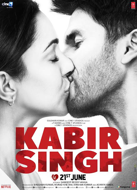 kabir singh movie poster