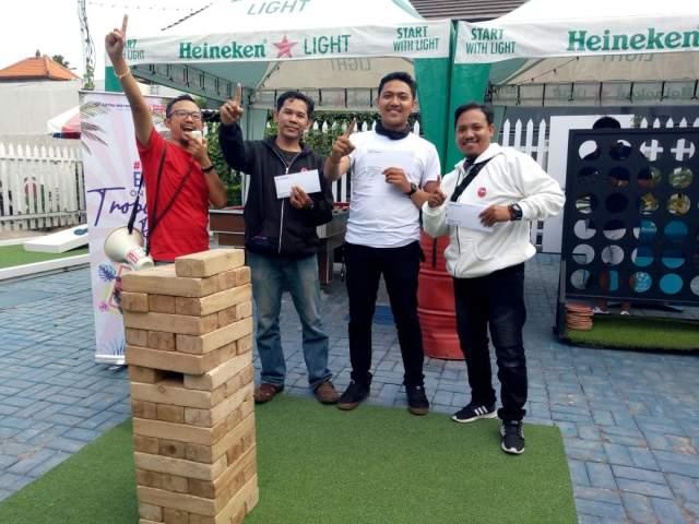 Juara Games Contest Fun Touring Honda Genio 110 Bali