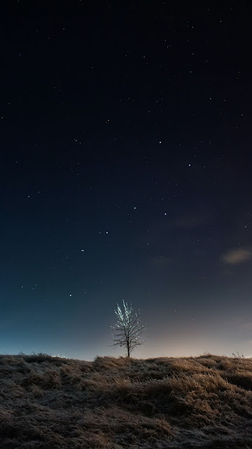 Wallpaper free Night Night Starry Sky