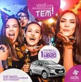 Promoção Shopping Interlagos Aniversário 2019 Carro 0KM HB20
