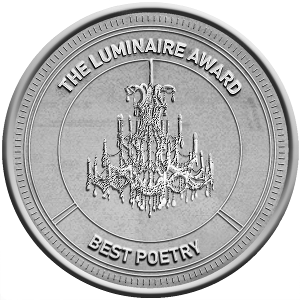 Luminaire Poetry Award silver logo and link