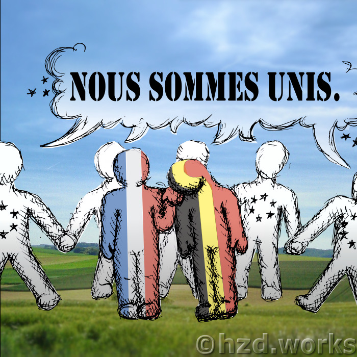 #PrayForBrussels Let's Show The World That We Are UNITED! - #37 #noussommesunis