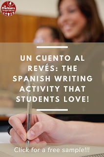 The Spanish Writing Activity that Students Love!