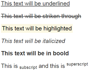 bootstrap text strikethrough