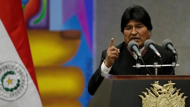 """Evo Morales: """"Trump es el enemigo número uno de la vida y fundamentalmente de la humanidad"""""""