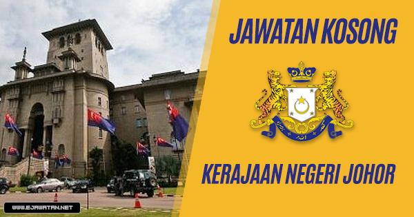 Jawatan Kosong di Pejabat Jurutulis Dewan Negeri Johor 2019