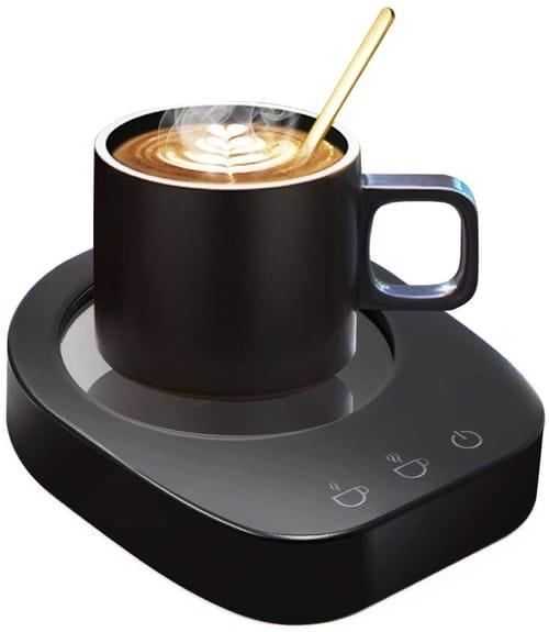 KUWAN Electric Cup Warmer Tea Water Cocoa Milk
