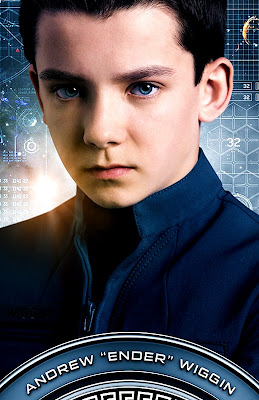 Ender's Game 2013 - Asa Butterfield Poster