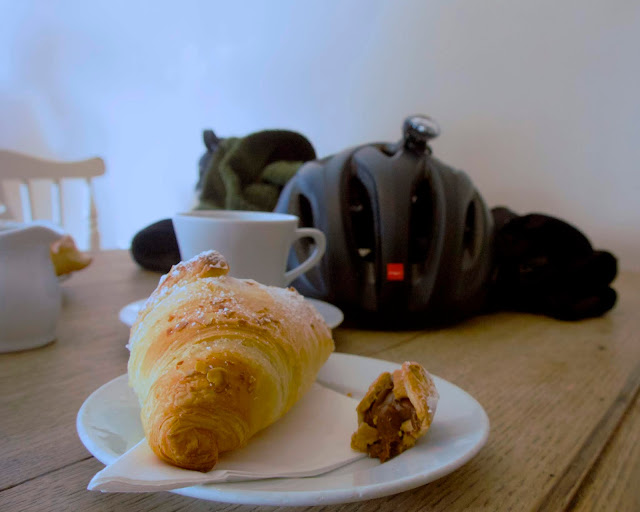 croissant at the cafe