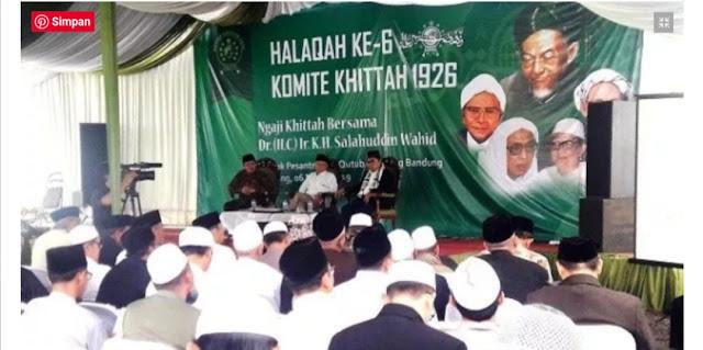 Koar-Koar Kembalikan NU ke Khittah, Tapi Digiring Dukung Prabowo
