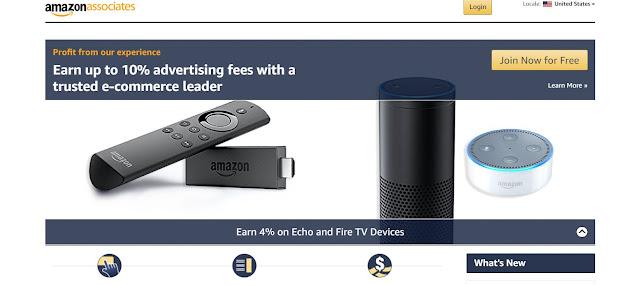 Amazon Associates google alternative