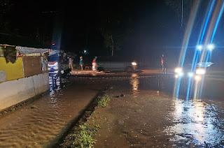 Tanjung Bingkung Solok Terendam Banjir, PUPR dan BPBD Turun ke Lokasi