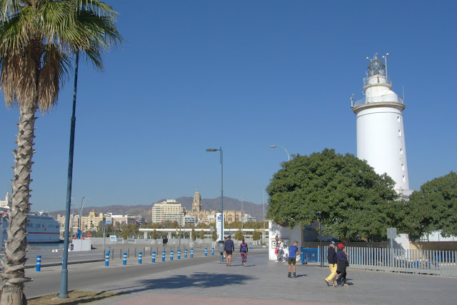 latarnia morska Malaga, port