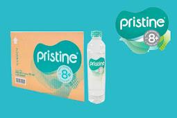 Pristine 8+, Air Alkali Terbaik!