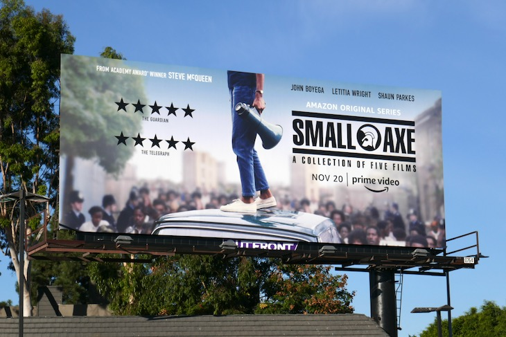 Small Axe film series billboard