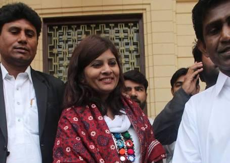 Krishna kumari kolhi pakistan Senator