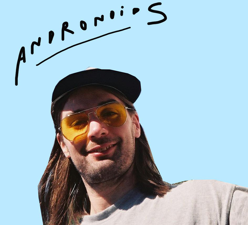"Andronoids' jamming raw jangle pop energy of ""Wild"""