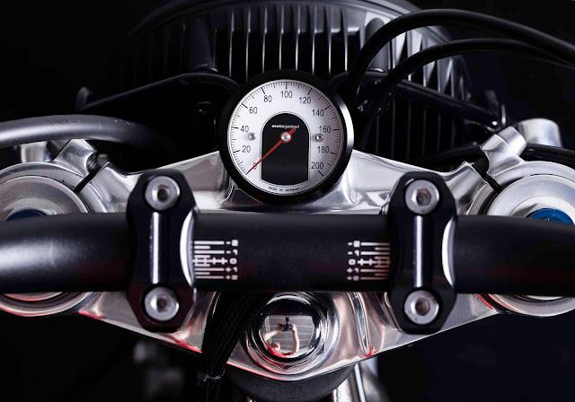 Triumph Bonneville By FCR Original Hell Kustom