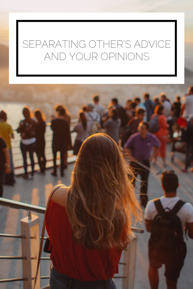 Click to read now or pin to save for later! Do you find it challenging to make a decision when you have other's opinions and your own thoughts competing? Here's how to clear through the noise and make your own decision