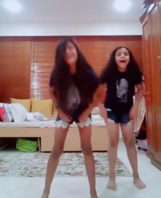 सुष्मिता ने अपनी छोटी बेटी को सिखाया है यह हुनर, शेयर किया वीडियो