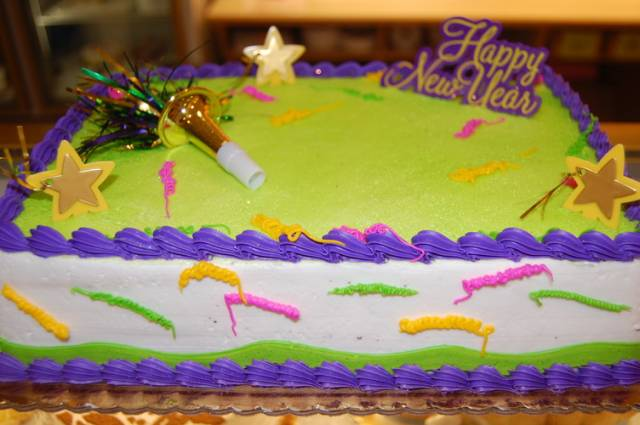 New Year's Day Cakes Designs