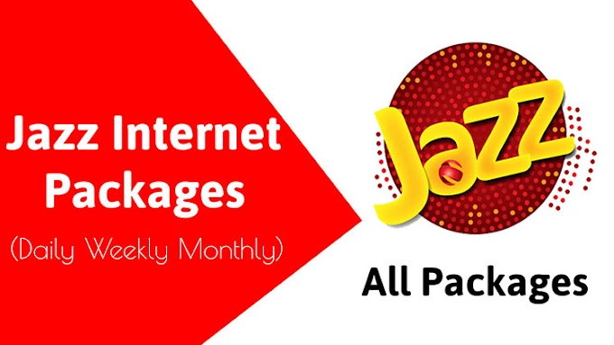 Jazz Internet Packages 2020 | Jazz Daily Weekly Monthly Internet Packages 2020