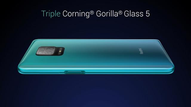 Redmi Note 9 Pro Max Triple Corning Gorlla Glass 5