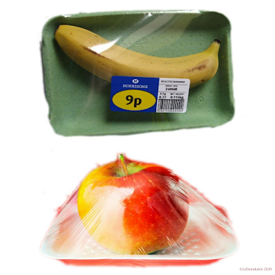Individually packed - wrapped fruit by ©LeDomduVin 2020