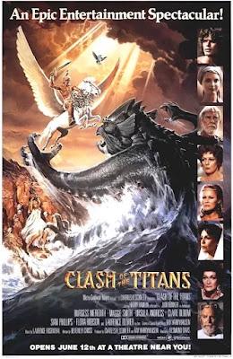 Póster película Furia de Titanes - 1981