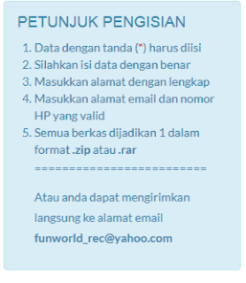 Cara Melamar Pekerjaan di PT Funworld Prima Melalui Email dan Web