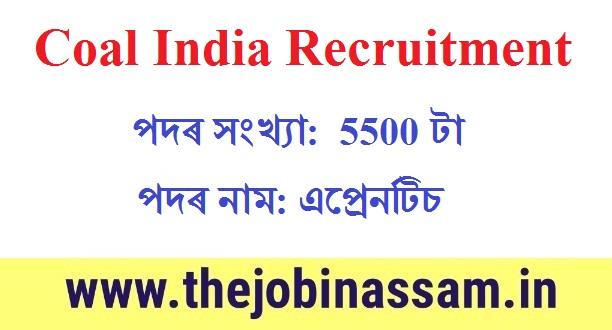 Coal India Apprentice Recruitment 2019