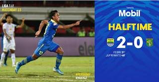 HT: Persib Bandung vs Persebaya Surabaya 2-0 Highlights