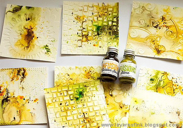 Layers of ink - Autumn Days Tutorial by Anna-Karin with Paper Artsy Infusions
