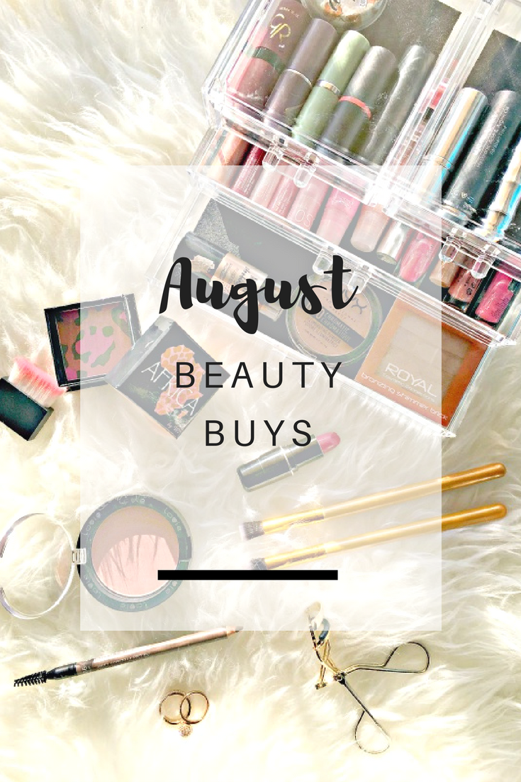 August Beauty Buys - Ioanna's Notebook