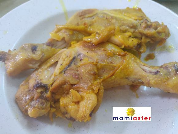 Resepi Ayam Bakar Butter+ Air Asam Sedap paling simple