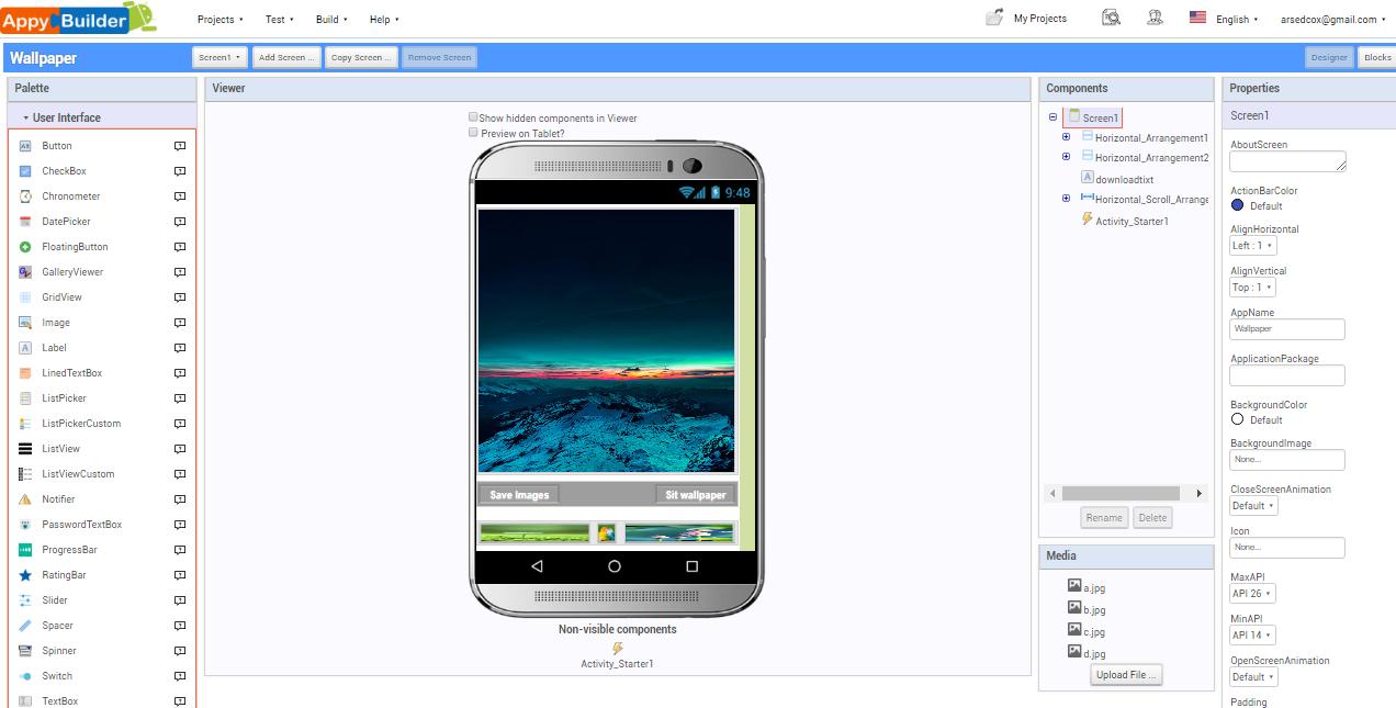Wallpaper (aia file) Appybuilder   Free Download - W4ApK