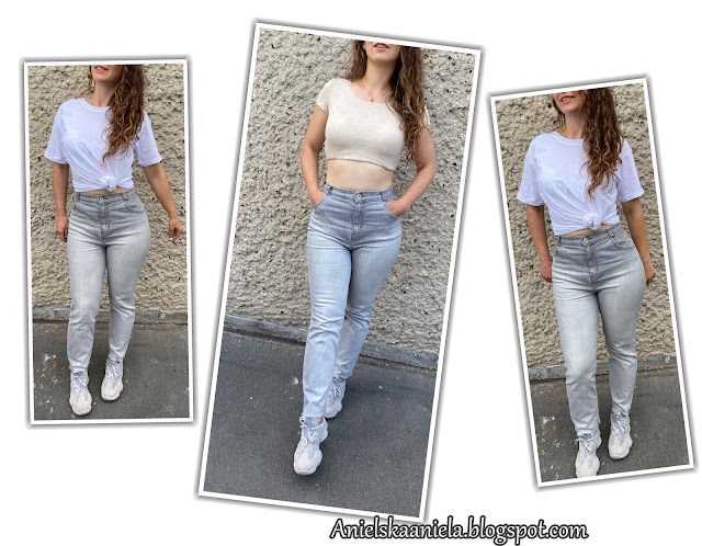 REFASHION YOUR JEANS INTO HIGHWAISTED JEANS