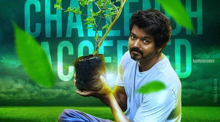 Vijay takes Green India Challenge for Mahesh Babu