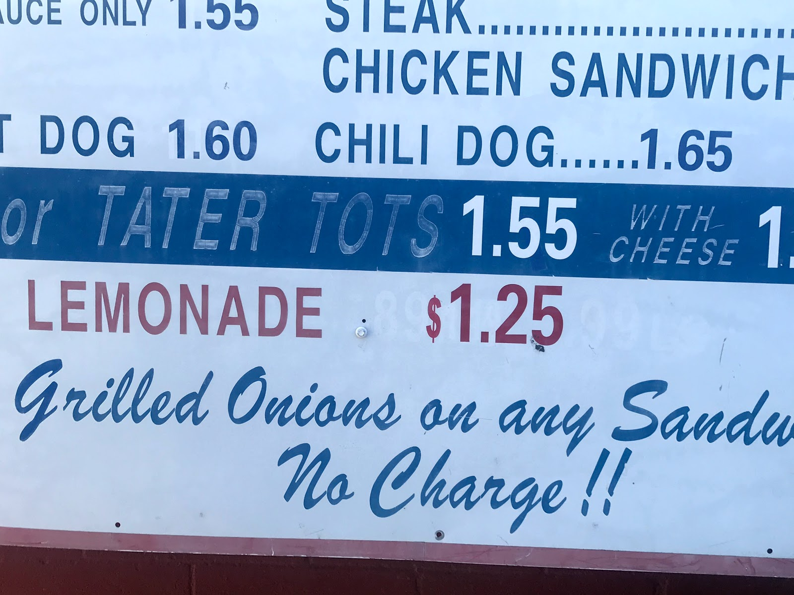 Fresh Lemonade sold at Kellers Carhop in Dallas Texas of Harry Hines. Seen first On Bits and Babbles