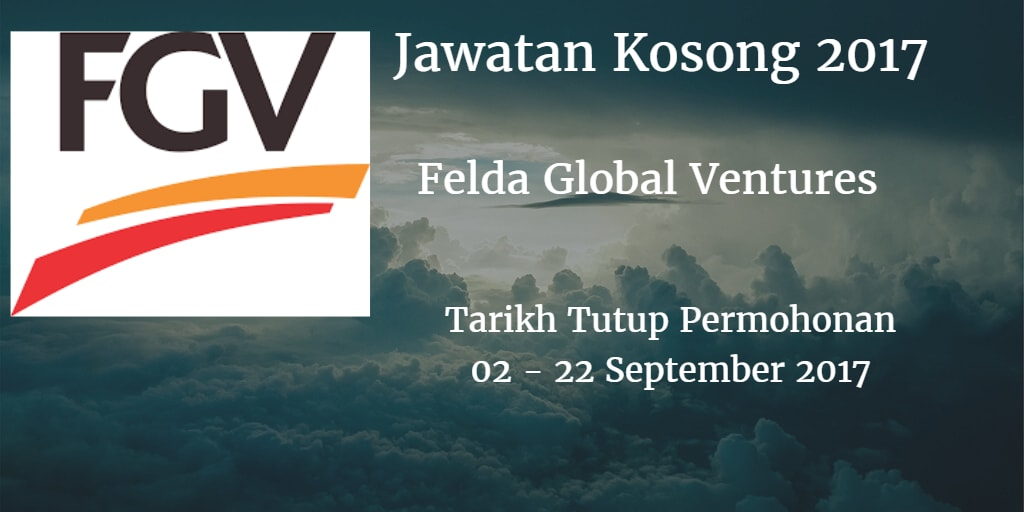 Jawatan Kosong FGV 02 - 22 September 2017