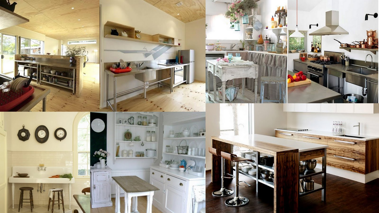 NonTraditional Kitchen CabiDesign