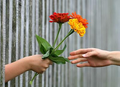 keajaiban memberi sebelum menerima