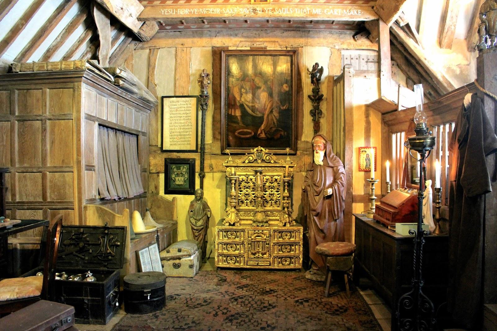 Snowshill Manor Charles Wade living quarters