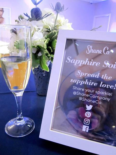 Shane Co Sapphire Event